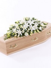Lily Casket Spray